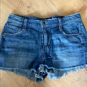 Joe jeans Hailey cut off shorts